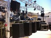 Montaje y realización del espectáculo de la orquesta DARWIN en Guadalajara , Madrid